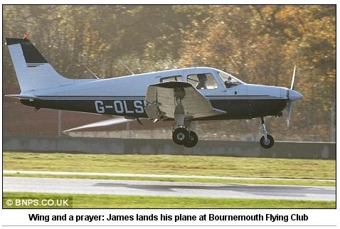 James plane