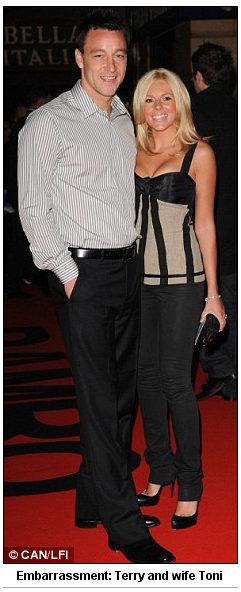 Terry wife Toni