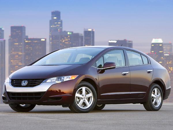 Honda FCX Hydrogen Fuel Cell Car thumbnail